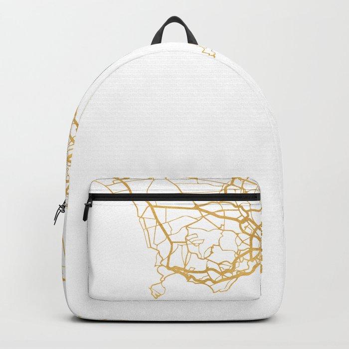 NAPLES ITALY CITY STREET MAP ART Backpack