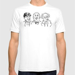 Stooges Moe, Curly and Larry T-shirt