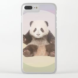 Save the Giant Panda - Endangered Species 5 Clear iPhone Case