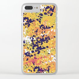 Abstract 36 Clear iPhone Case