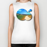 hiking Biker Tanks featuring Another lonely hiking trail by Patrick Jobst
