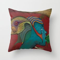 Siamese God Throw Pillow