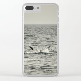 Whale of a Tale Clear iPhone Case