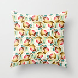 Translucent glass objects Throw Pillow