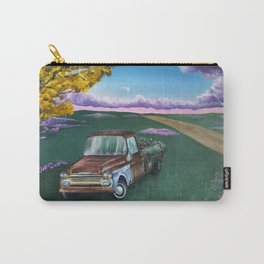 Flower Truck Carry-All Pouch