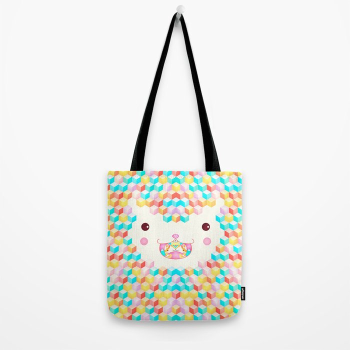 Cubes Cubes Cubes Tote Bag