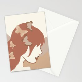 She Gives Me butterflies Stationery Cards