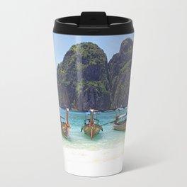 Maya Bay, Phi Phi Island, Thailand Travel Mug