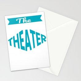 The Legendary Theater Teacher Retirement Gift Design Stationery Cards