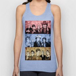 Doctor Who - Three Colours Who Unisex Tank Top
