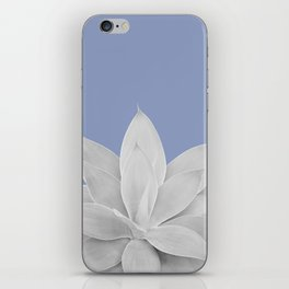Lavender Lustre Agave #1 #tropical #decor #art #society6 iPhone Skin