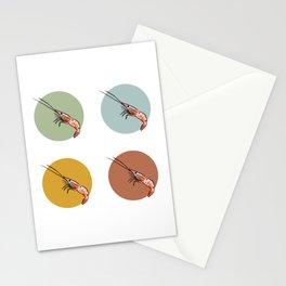 Spot Prawns Galore Stationery Cards
