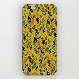 Celadon Leaves iPhone Skin