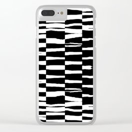 Break Hand Lines 02 Clear iPhone Case