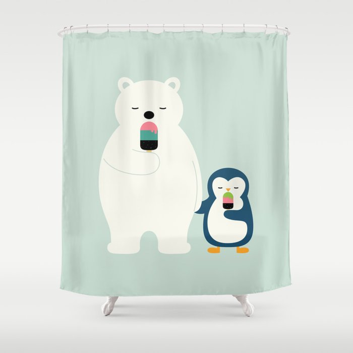 Stay Cool Shower Curtain by andywestface | Society6