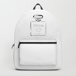 Shine is my favorite color Backpack