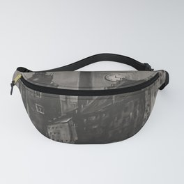 old placard Krakow voyage poster Fanny Pack