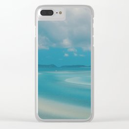 Whitehaven Beach Clear iPhone Case