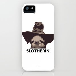 Slotherin (Slytherin + Sloth) iPhone Case