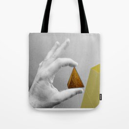 Last step, the usual obsession Tote Bag