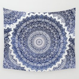 COLD WINTER MANDALAS Wall Tapestry