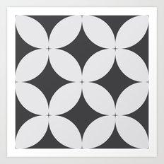 Pattern Tile 1.1 Art Print