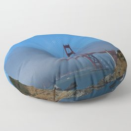 Golden Gate Brigde Floor Pillow