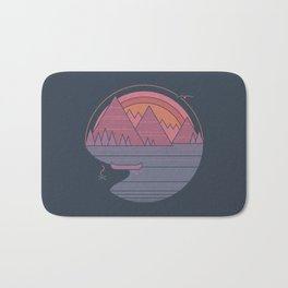 The Mountains are Calling Bath Mat