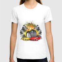 cars T-shirts featuring Cars by ismailburc