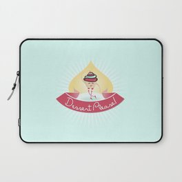 Dessert Please! (Blue) Laptop Sleeve