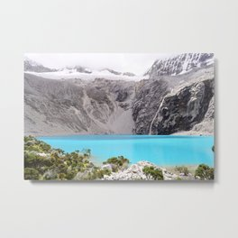 Laguna 69, Peru Metal Print