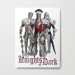Knights of Dark Metal Print