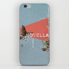 Novella- Mixed media iPhone Skin