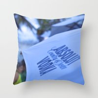 vodka Throw Pillows featuring Vodka! by Jose Loureiro