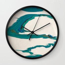 Slalom Wall Clock