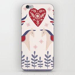 Swedish Christmas 3 iPhone Skin