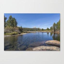 Tuolumne River and Meadows, No. 2 Canvas Print