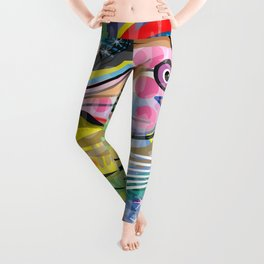Mariscos Leggings