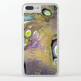 Green Eggs Clear iPhone Case