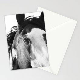 Paint Horse | Modern Horse Art Stationery Cards