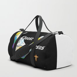I Choose Jesus Duffle Bag