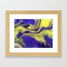 Milky Way Purple Day Framed Art Print