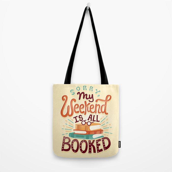 I'm booked Tote Bag