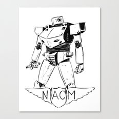 National Advisory Committee for Mecha-Electronics Canvas Print