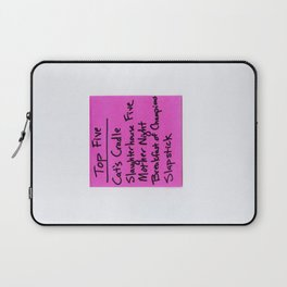 TOP FIVE Kurt Vonnegut Novels Laptop Sleeve