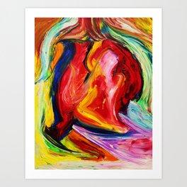 She Rises Art Print