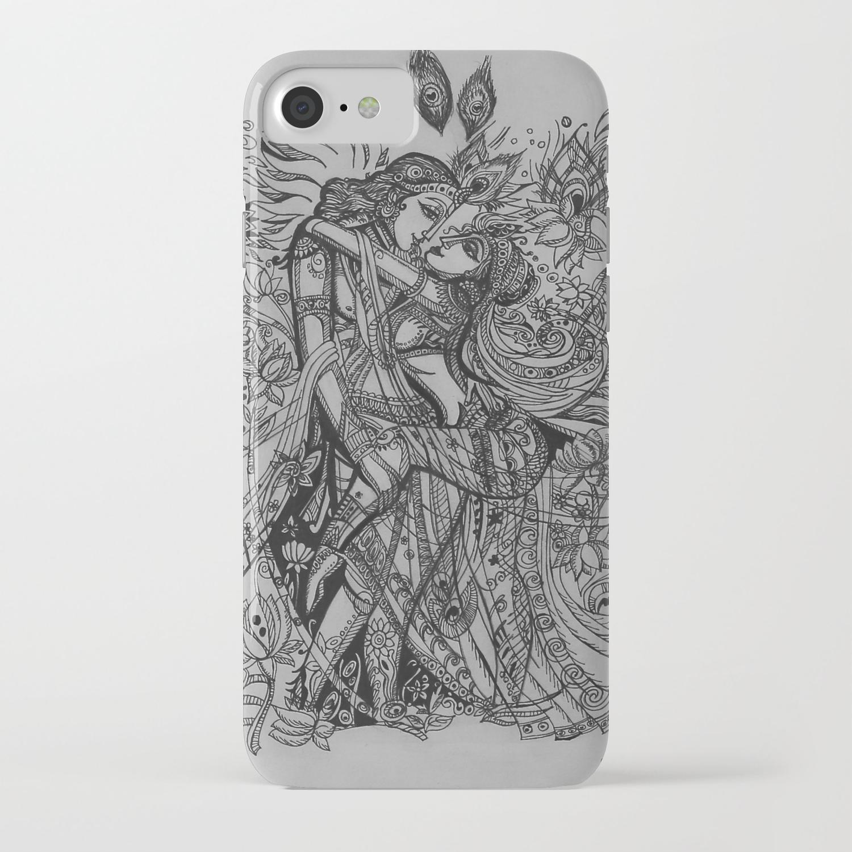 Good Luck Series: Radha-Krishna iPhone Case