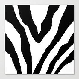 Zebra ZZ Canvas Print