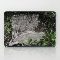 concrete iPad Cases featuring concrete by Ruud van Koningsbrugge