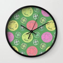 Jalapeno Tomato Wall Clock